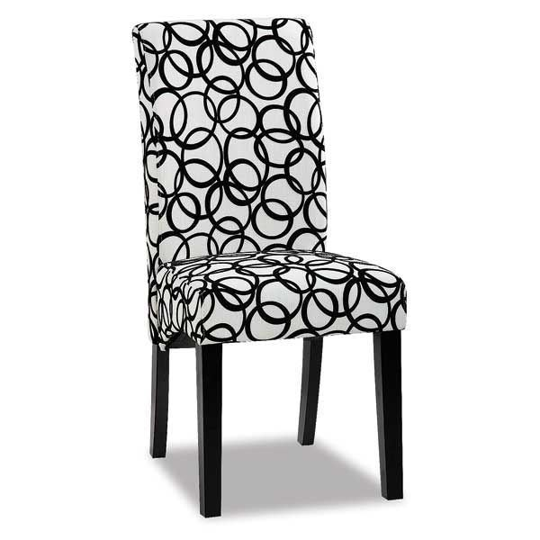 Picture of Circle Patterned Parsons Chair