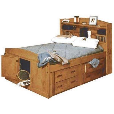 Bunkhouse Twin Captains Bed 4116 Twincapt Trendwood Usa Afw Com