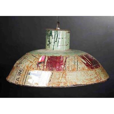 Picture of Reclaimed Metal Hanging Lamp