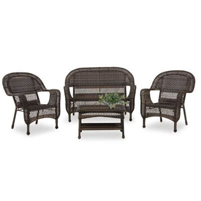 Picture of Carlyle Wicker 4 Piece Set
