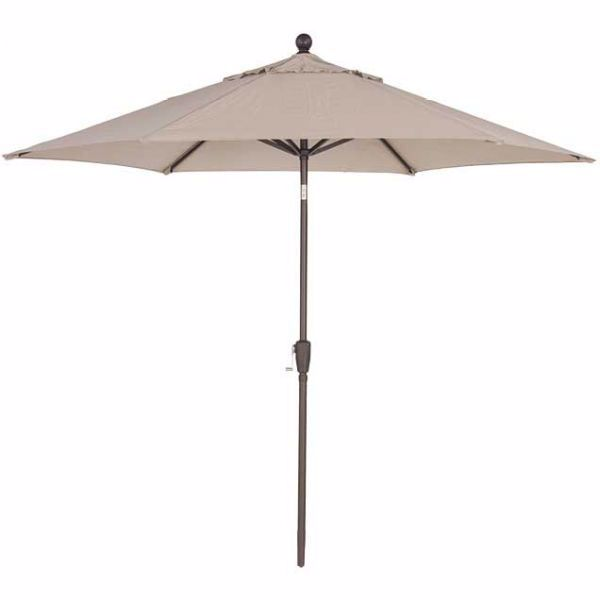 Picture of 9' Umbrella Tilt Push Button -Tweed