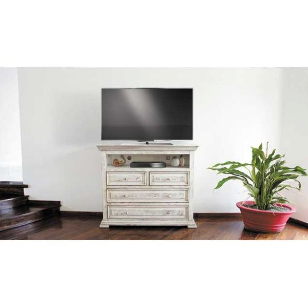 Picture of Isabella White Media Chest