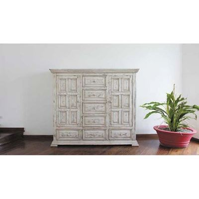 Picture of Isabella White Dresser Cabinet