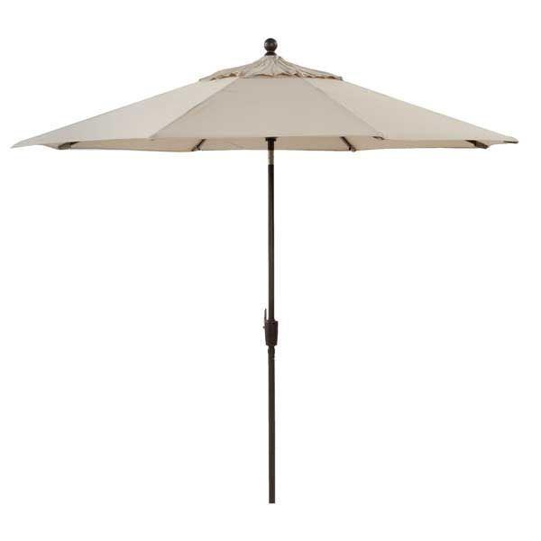 "Picture of 9"" Umbrella Auto- Tilt -Tweed"