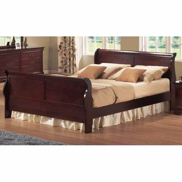Picture of Bordeaux Sleigh King Bed