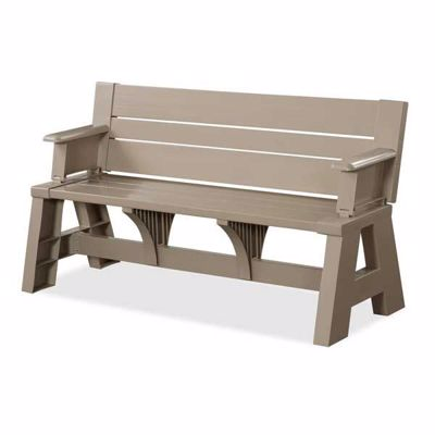 Picture of Convert-a-Bench in Adobe Tan