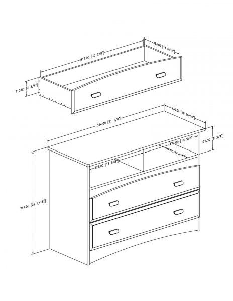 Picture of Imagine TV Stand/Storage Unit *D