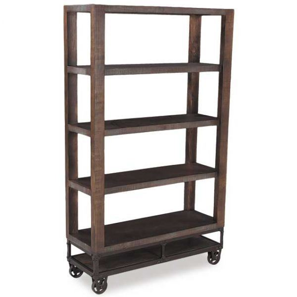 """Picture of Urban Gold 70"""" Bookcase"""