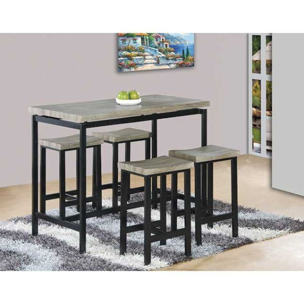 Picture of 5 Piece Counter Height Set