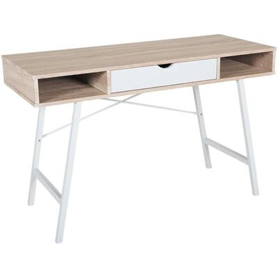 Picture of Computer Desk with 2 Colors