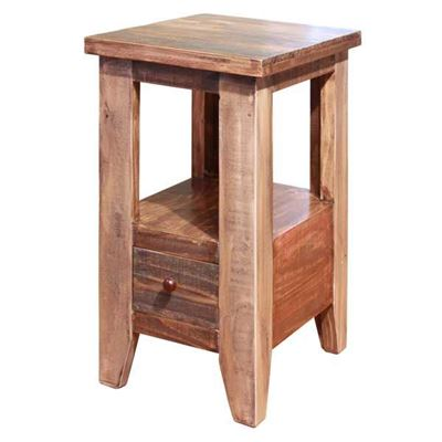 Picture of Antique Chair Side Table