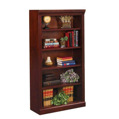 Picture of Versailles Cherry Bookcase - 4 Shelf