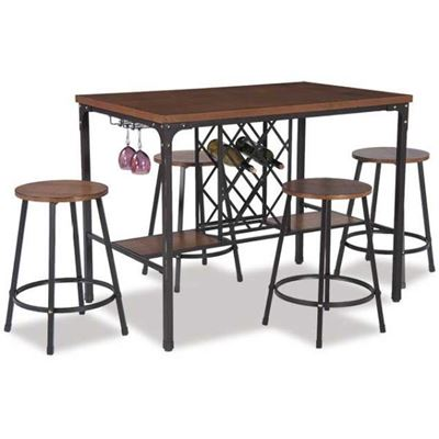 Picture of Napa 5 Piece Counter Height Dinette Set