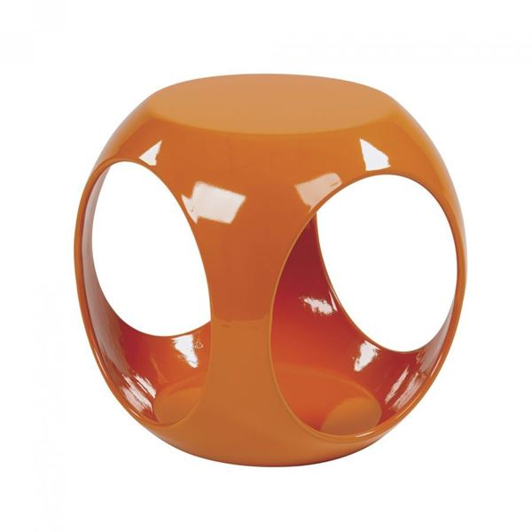 Picture of Slick Orange Accent Table *D