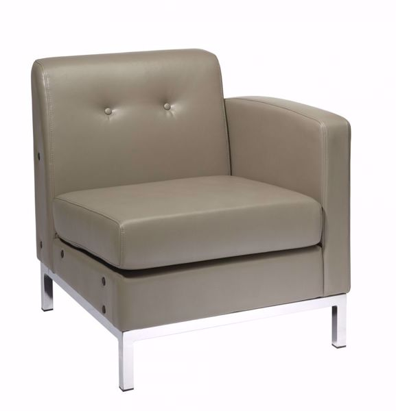 Picture of Wallstreet Smoke Arm Chair Raf *D