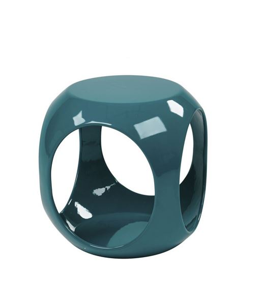Picture of Slick Blue Accent Table *D