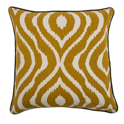 Picture of 18x18 Golden Bengal Decorative Pillow *P