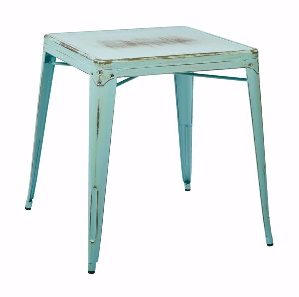 Picture of Bristow Blue Metal Table *D