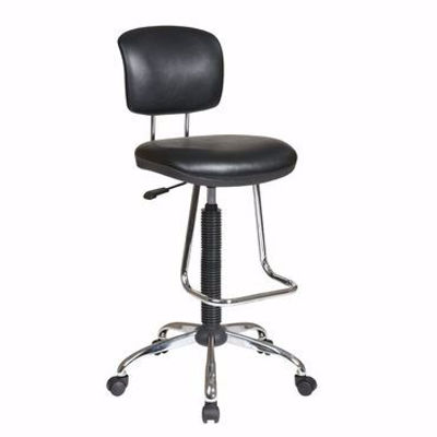 Picture of Chrome Office Chair *D