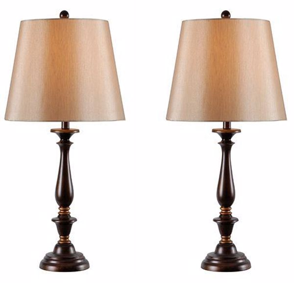 Picture of Set 2 Gavin Table Lamps 29 In