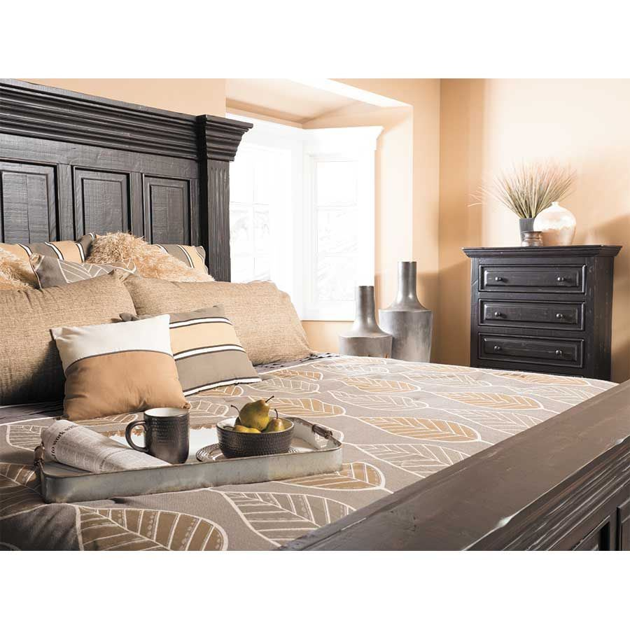 Picture of Black Isabella King Bed