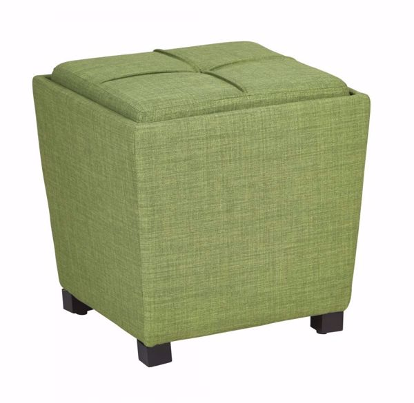 Picture of Grass Fabric Ottoman Set *D