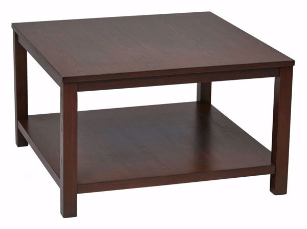 Picture of Mahogany Squareuare Coffee Table *D