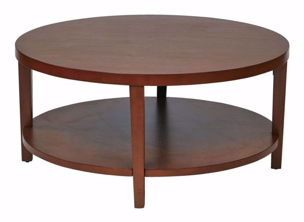 Picture of Cherry Round Coffee Table *D