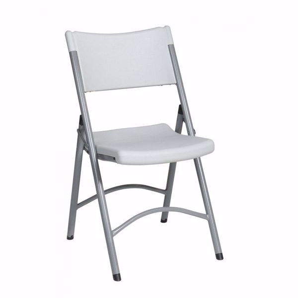 Picture of Lt Grey 4PK Resin Chair *D