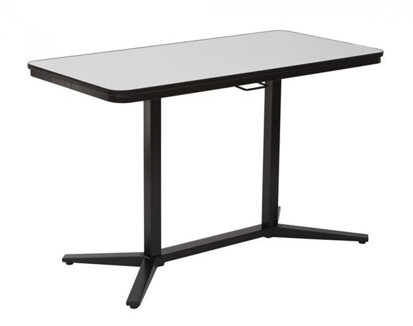 Picture of Black Pneumatic Adjustable Table *D
