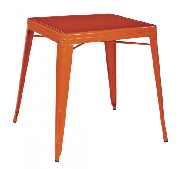 Picture of Paterson Metal Table Orange *D