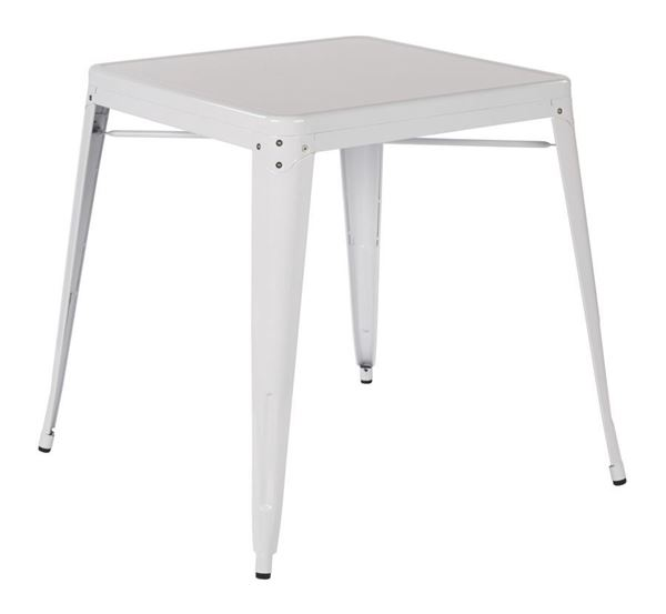 Picture of Paterson Metal Table White *D