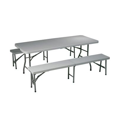 Picture of 3 Pc Folding Tbl And Bench Set *D