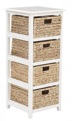 Picture of White Seabrook 4-Tier Storage *D