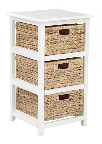 Picture of White Seabrook 3-Tier Storage *D