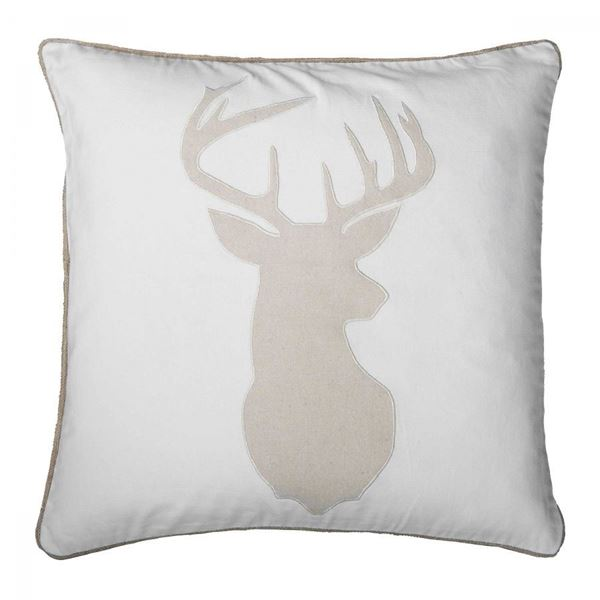 Picture of 20x20 Deer Head Pillow *P