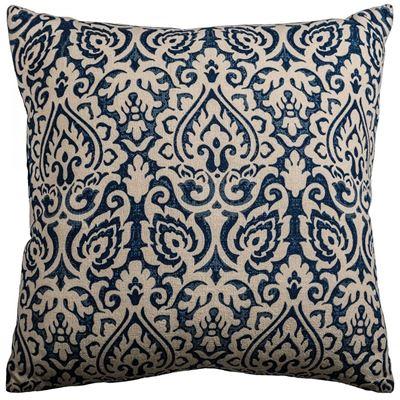Picture of 22x22 Blue Burnout Decorative Pillow *P