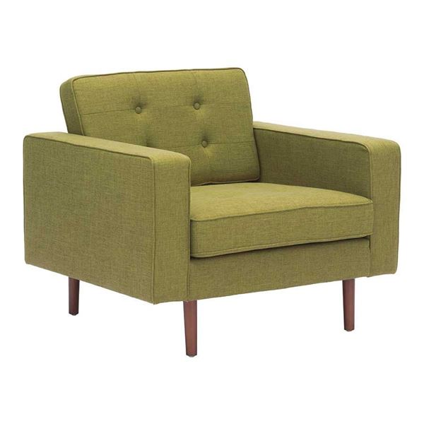 Picture of Puget Arm Chair Green *D