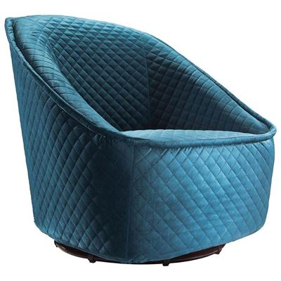 Picture of Pug Swivel Chair, Aquamarine *D