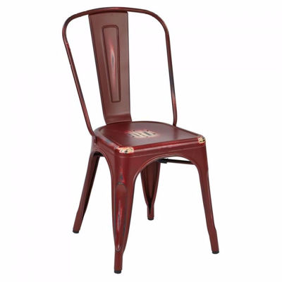 Picture of Bristow Red Armless Chair, 2-Pack *D