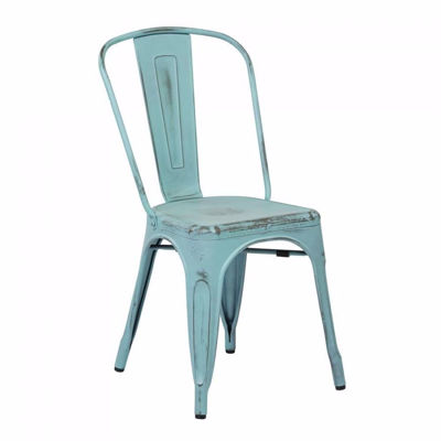 Picture of Bristow Blue Armless Chair, 4-Pack *D