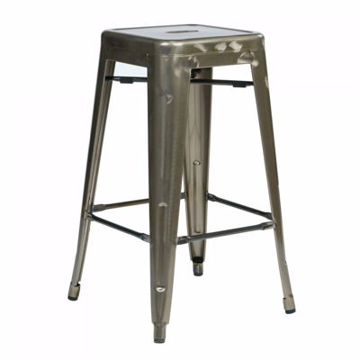 Picture of Bristow Ant Gunmetal Barstool 4 Pack *D