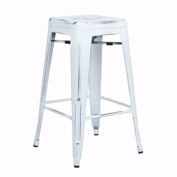 Picture of Bristow Ant White Barstool 4 Pack *D