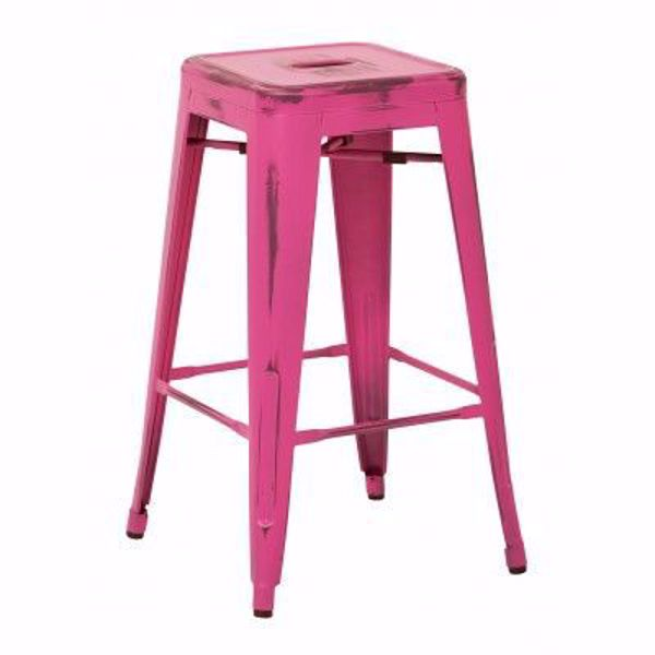 Picture of Bristow Ant Pink Barstool 4 Pack *D