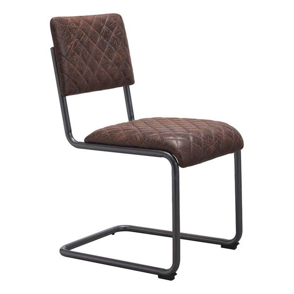 Picture of Father Dining Chair, Brown - Set of 2 *D
