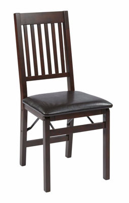 Picture of Hacienda Espressso 2 Pk Folding Chair *D