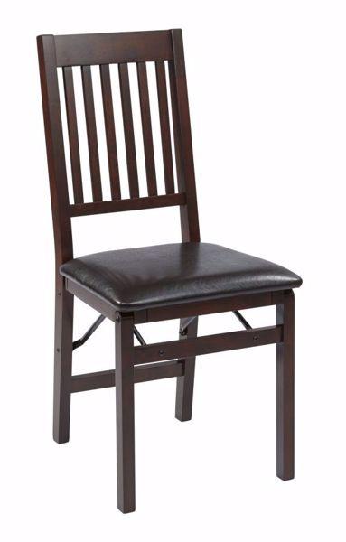 Picture of Hacienda Espressso 2 Pk Folding Chair *D