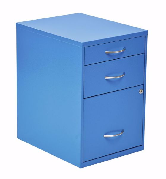 Picture of Blue Storage File Cabinet *D