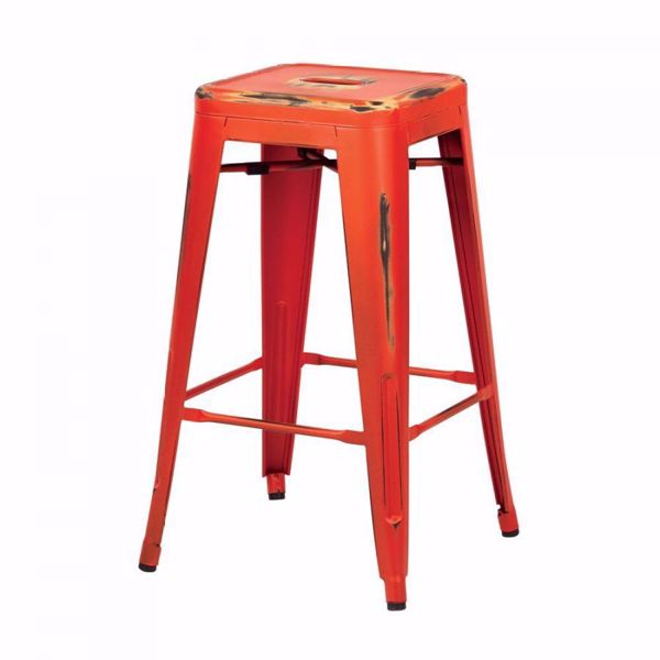 Picture of Bristow Ant Orange Barstool 4 Pack *D
