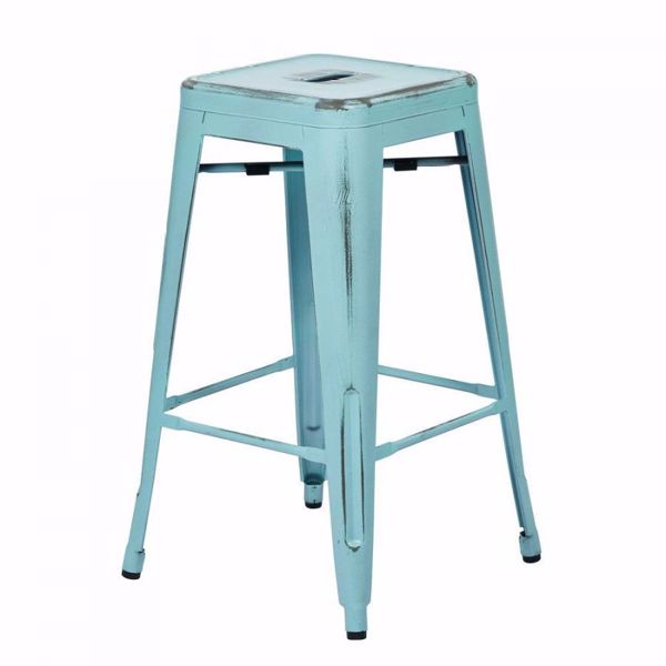 Picture of Bristow Ant Skyblue Barstool 4 Pack *D